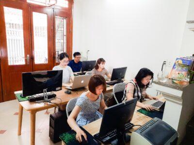 Hình ảnh lớp học tại Acc Training